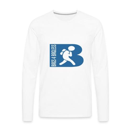 Bags 4 Bagless - Men's Premium Long Sleeve T-Shirt