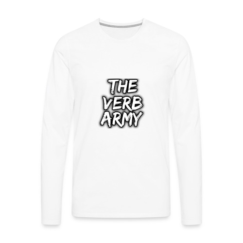 The Verb Army - Men's Premium Long Sleeve T-Shirt