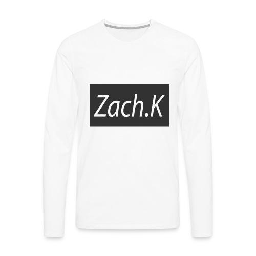 My Hoodie logo - Men's Premium Long Sleeve T-Shirt