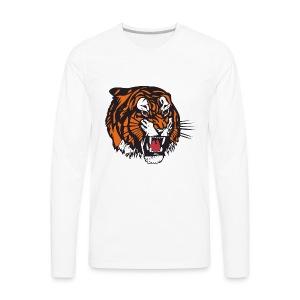 the beast tiger - Men's Premium Long Sleeve T-Shirt