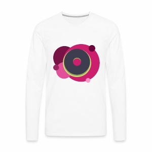 Pink Donut - Men's Premium Long Sleeve T-Shirt