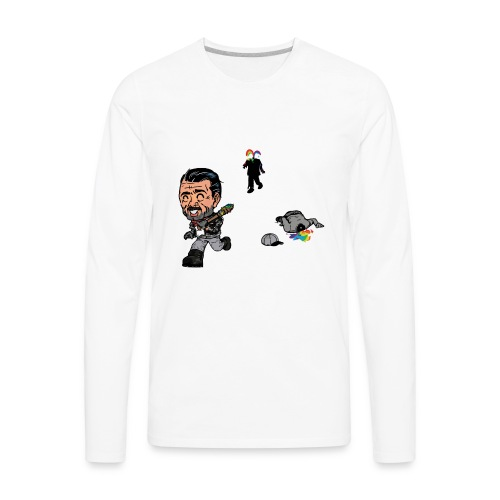 Negan Spreading Rainbow - Men's Premium Long Sleeve T-Shirt