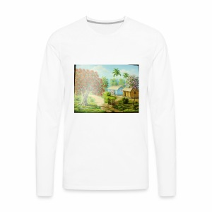 Country Side - Men's Premium Long Sleeve T-Shirt