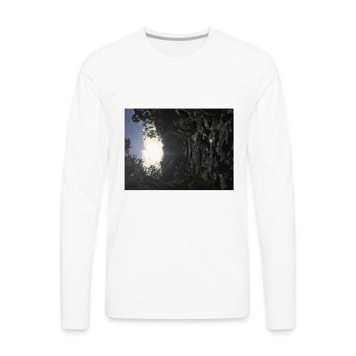 Glowing path - Men's Premium Long Sleeve T-Shirt