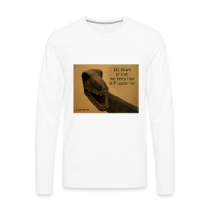 up with the upperlip - Men's Premium Long Sleeve T-Shirt