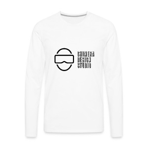 Chimera Design Studio dark logo - Men's Premium Long Sleeve T-Shirt