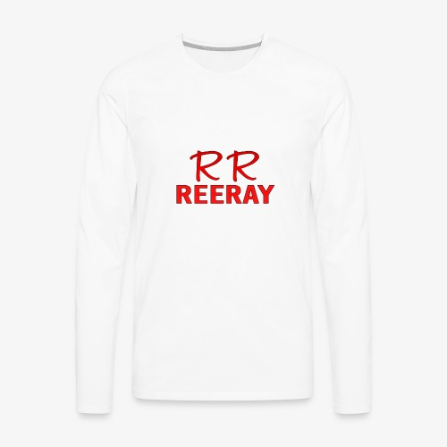 ReeRay YouTube Channel Logo - Men's Premium Long Sleeve T-Shirt