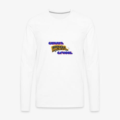 SummerSchool - Men's Premium Long Sleeve T-Shirt