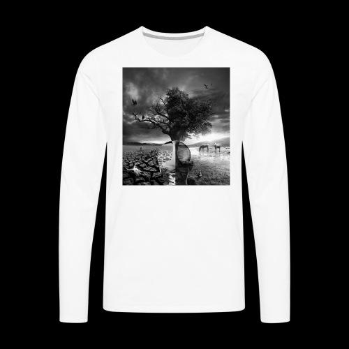 Life and Death - Men's Premium Long Sleeve T-Shirt