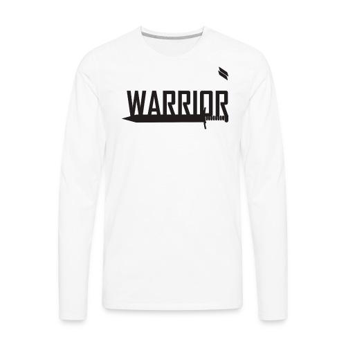Warrior - Men's Premium Long Sleeve T-Shirt