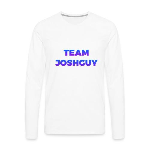 Team JoshGuy - Men's Premium Long Sleeve T-Shirt