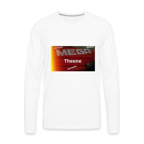Nerf shirt - Men's Premium Long Sleeve T-Shirt