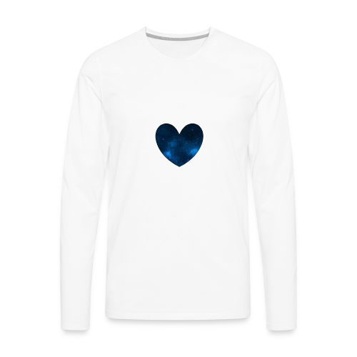 Galaxy Heart - Men's Premium Long Sleeve T-Shirt