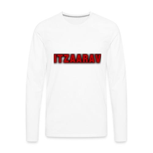 itzaarav - Men's Premium Long Sleeve T-Shirt