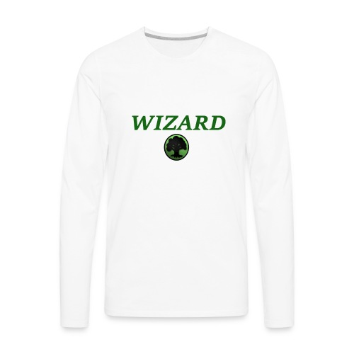 Forest Wizard - Men's Premium Long Sleeve T-Shirt