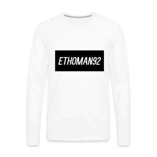 Ethoman92 Shirt Design - Men's Premium Long Sleeve T-Shirt