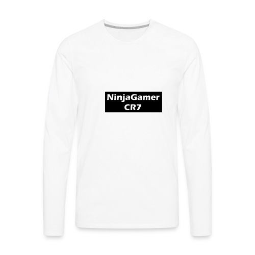 CR7 Fan and Ninja - Men's Premium Long Sleeve T-Shirt