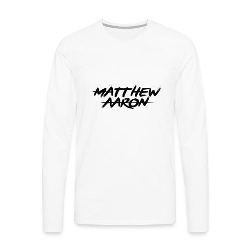 MATTHEWAARON MERCH - Men's Premium Long Sleeve T-Shirt