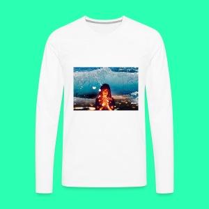 Girl Wave - Men's Premium Long Sleeve T-Shirt