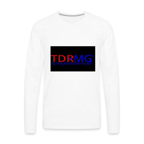 Top Dawg Records Logo - Men's Premium Long Sleeve T-Shirt