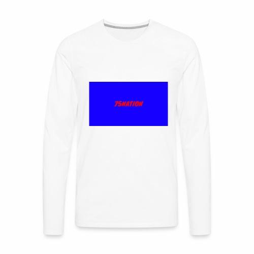 75 NATION shirts - Men's Premium Long Sleeve T-Shirt
