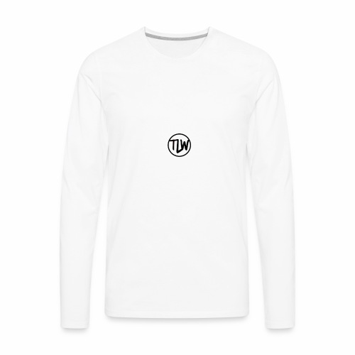 tlw official logo - Men's Premium Long Sleeve T-Shirt