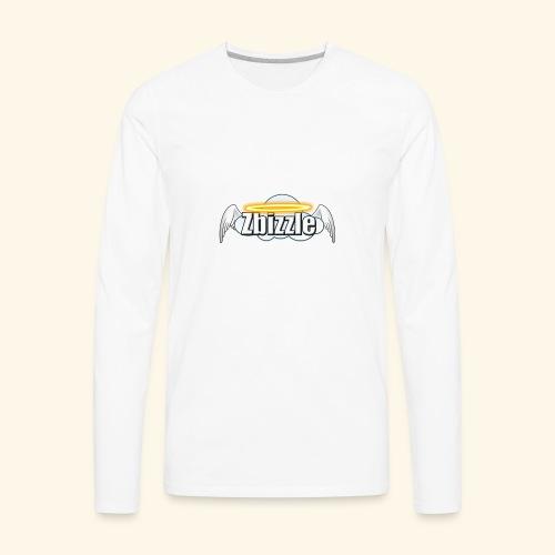 Zbizzle Logo (2) - Men's Premium Long Sleeve T-Shirt