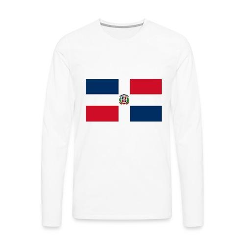 Dominican Republic shirt - Men's Premium Long Sleeve T-Shirt