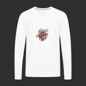 supreme x mummify - Men's Premium Long Sleeve T-Shirt