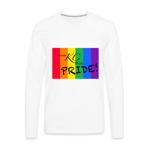 KC pride - Men's Premium Long Sleeve T-Shirt