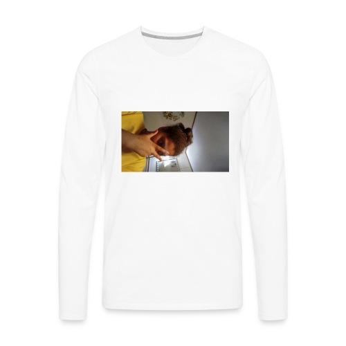 Famous Amos - Men's Premium Long Sleeve T-Shirt