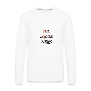 jacob news - Men's Premium Long Sleeve T-Shirt