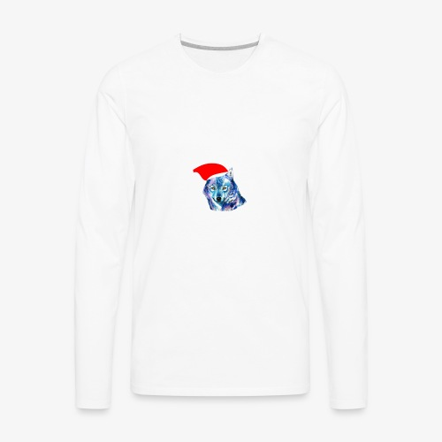 wolf nation chrismas limited time only - Men's Premium Long Sleeve T-Shirt