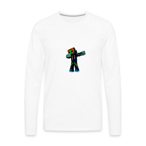Dabbing Trexx - Men's Premium Long Sleeve T-Shirt