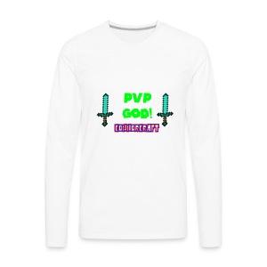 ConnorCraft Design #1 - Men's Premium Long Sleeve T-Shirt