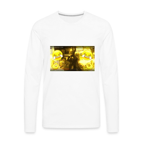 From Uncle Andy's Vlogs but Made Into JD Merch - Men's Premium Long Sleeve T-Shirt