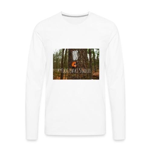 Back In Woods - Men's Premium Long Sleeve T-Shirt