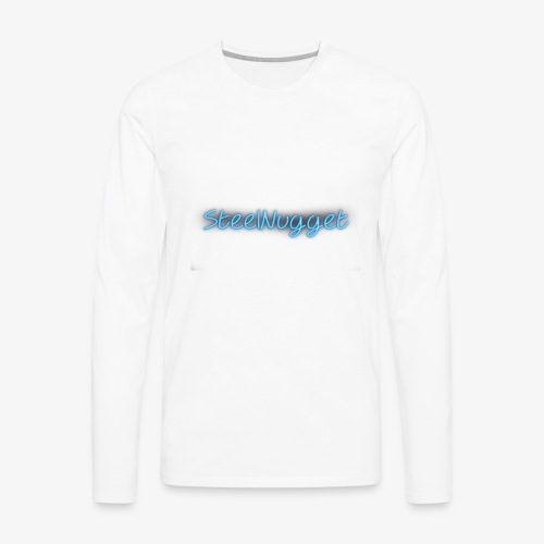 SteelNugget Neon - Men's Premium Long Sleeve T-Shirt