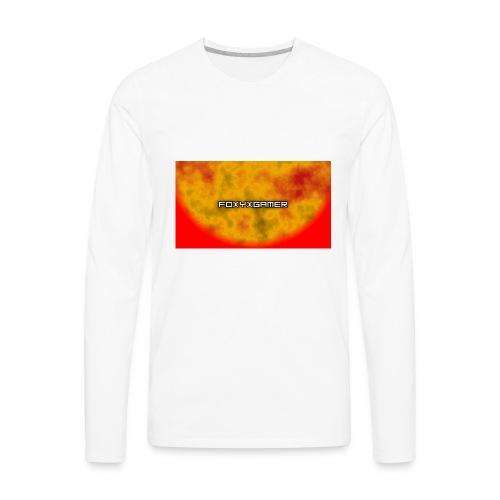 FoxyXGamers merch - Men's Premium Long Sleeve T-Shirt