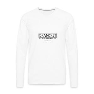 Deanout Branding - Men's Premium Long Sleeve T-Shirt