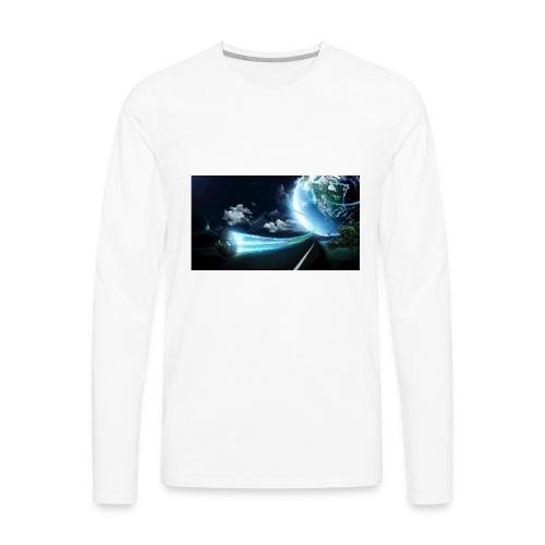 cool space - Men's Premium Long Sleeve T-Shirt