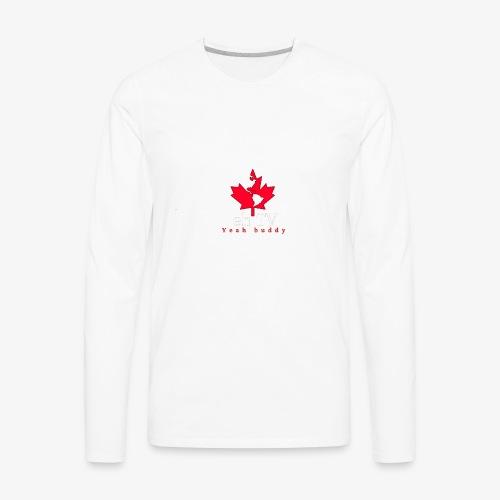 Back piece - Men's Premium Long Sleeve T-Shirt