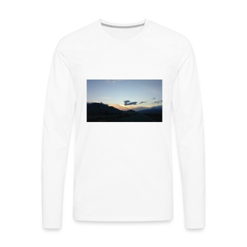 On the road again - Men's Premium Long Sleeve T-Shirt