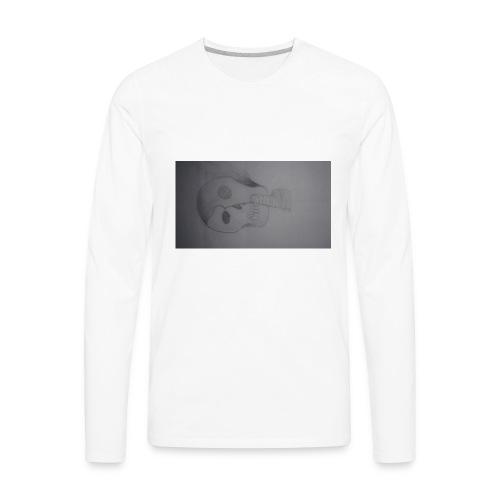jaythekiller24 burn mask - Men's Premium Long Sleeve T-Shirt