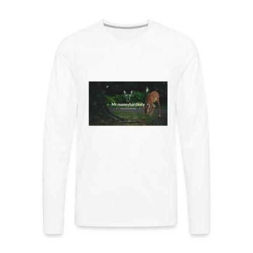 youtube channel art - Men's Premium Long Sleeve T-Shirt