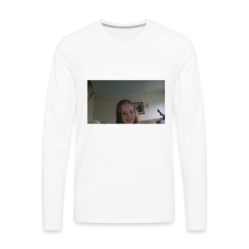 Kaitlin reacts merch - Men's Premium Long Sleeve T-Shirt