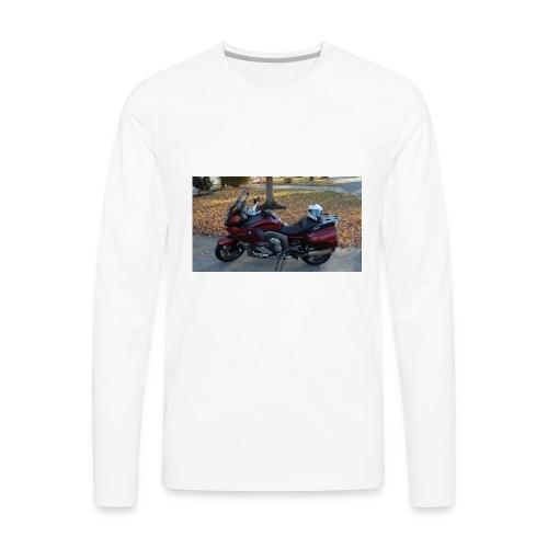 MOTO JUNKIE - Men's Premium Long Sleeve T-Shirt