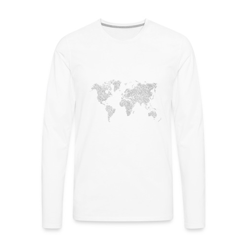 World - Men's Premium Long Sleeve T-Shirt