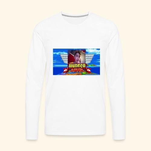 HUNTER MANIA - Men's Premium Long Sleeve T-Shirt