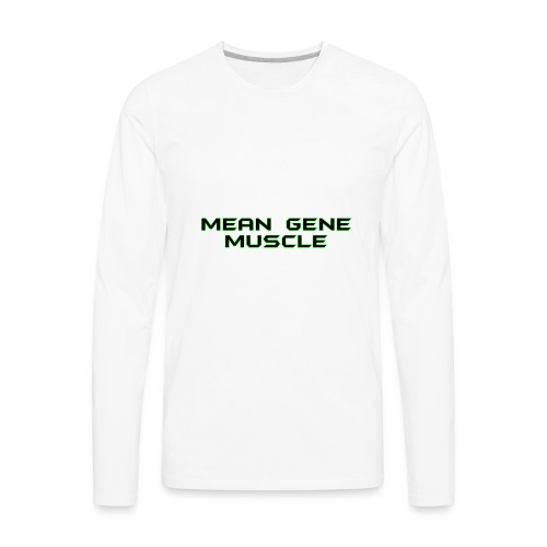 Mean Gene - Men's Premium Long Sleeve T-Shirt